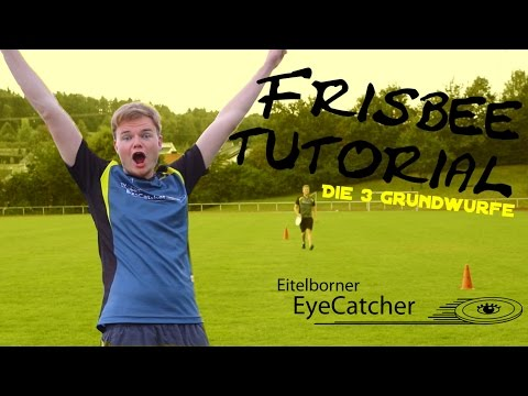 Die 3 Grundwürfe | Ultimate Frisbee Tutorial | EyeCatcher