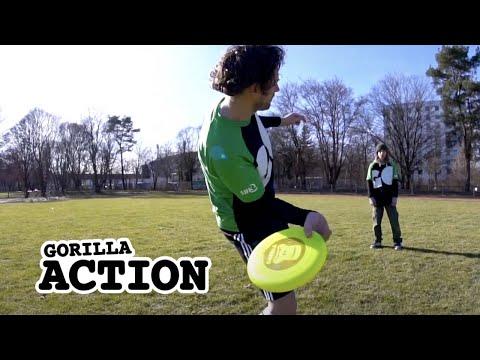 Freestyle-Frisbee – Sidearm Throw lernen * GORILLA Frisbee Tutorial #9