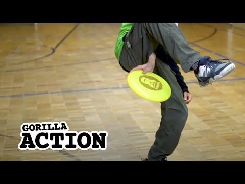 Freestyle-Frisbee – Under The Leg Throw * GORILLA Frisbee Tutorial #15