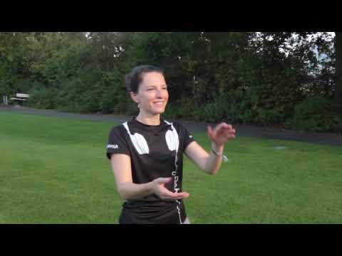 Ultimate Frisbee - Beidhändiges Fangen