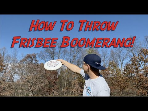 How To Throw a Frisbee Boomerang