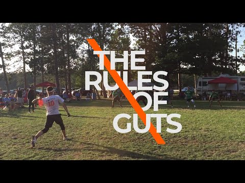 Rules of Guts - The Original Extreme Sport!