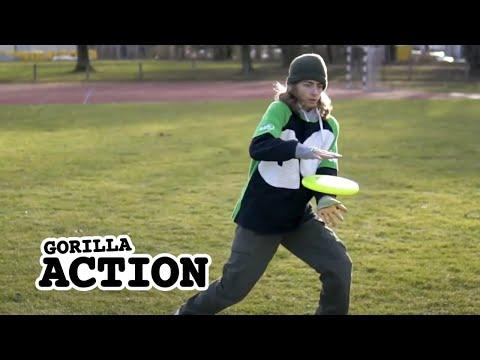Freestyle-Frisbee – Pancake Catch lernen * GORILLA Frisbee Tutorial #12