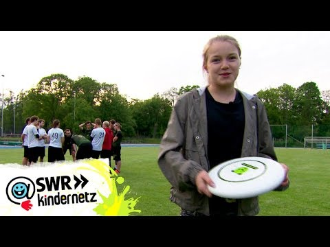Ultimate Frisbee - Reporterin Annina beim Training | Tigerenten Club | SWR Kindernetz