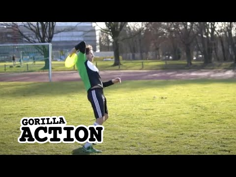 Freestyle-Frisbee – Upside Down Throw lernen * GORILLA Frisbee Tutorial #11