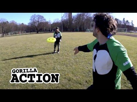 Freestyle-Frisbee – Backhand Throw lernen * GORILLA Frisbee Tutorial #8