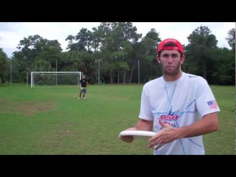 How To Throw Airbounce Backhand | Brodie Smith