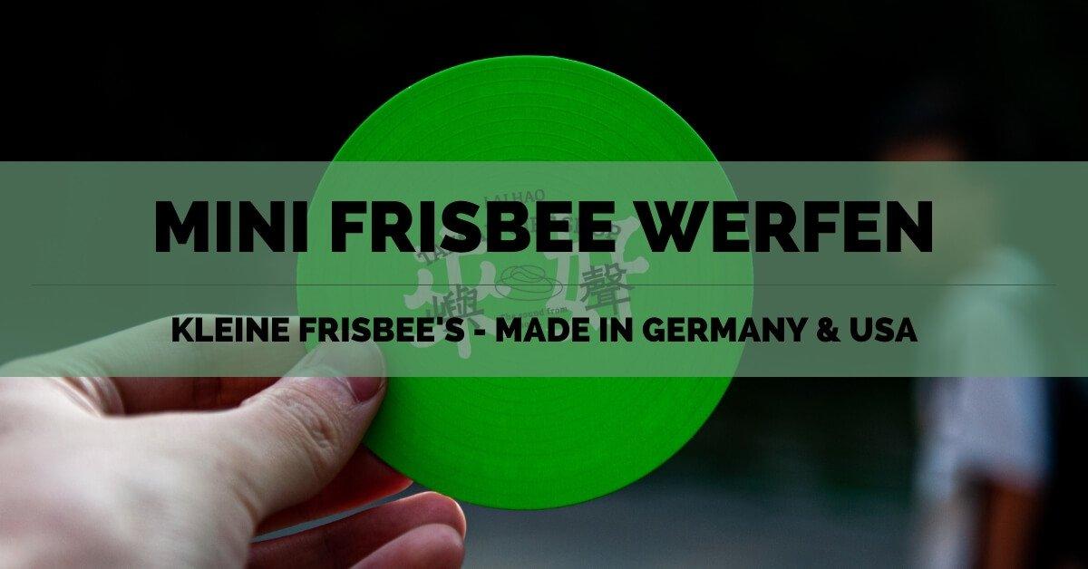 Mini Frisbee - FB