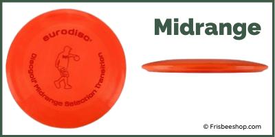 Disc Golf Midrange mit Profil Ansicht