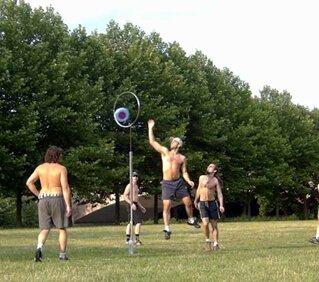 Frisbee-Basketball